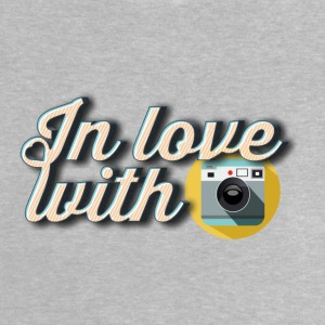 In love with photography - T-shirt Bébé