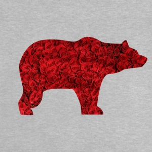 BEAR AND ROSES - Baby T-Shirt