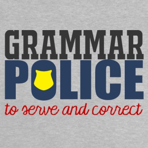Polizei: Grammar Police to serve and correct - Baby T-Shirt