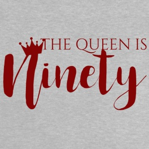 90th Birthday: The Queen Is Ninety - Baby T-Shirt