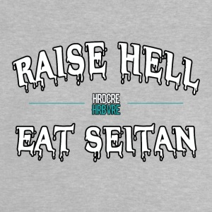 Raise Hell SEITAN (hrdcre HRBVRE) VEGAN APPAREL ESSEN - Baby T-Shirt