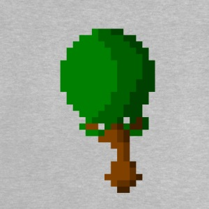 Happy Pixel Tree - Baby T-shirt