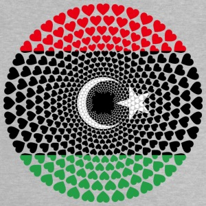 Libië Libië ليبيا Love Heart Mandala - Baby T-shirt