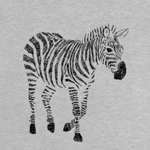 Zebra Zentangle - Camiseta bebé