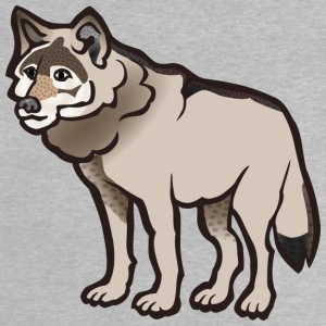 Sad and lonely wolf - Baby T-Shirt