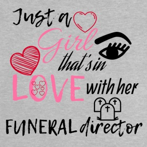 A girl who's in love with her funeral director - Baby T-Shirt