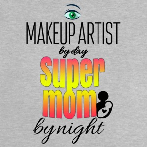 Makeup artist by day super mom by night - Baby T-Shirt