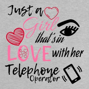 A girl who is in love with her telephone operator - Baby T-Shirt