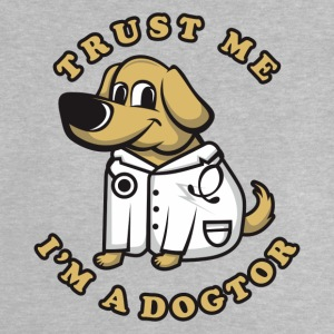 Veterinarian and dog friend - Baby T-Shirt