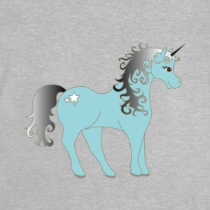 unicorn silver - Baby-T-shirt