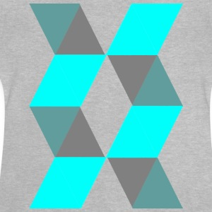 Blue Pattern - Baby-T-shirt
