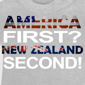 America first new zealand second - Baby T-Shirt