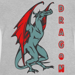 tall standign dragon color - Baby T-Shirt