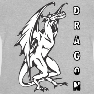 grand dragon, standign - T-shirt Bébé