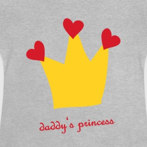 Daddys Prinsesse - Baby T-shirt