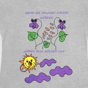 Farting violets - Baby T-Shirt