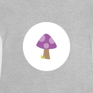 Body_Pilz_lila - Baby T-shirt