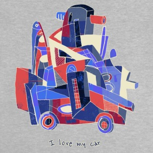 I love my car - Baby T-shirt