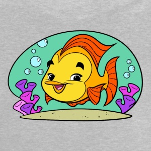 Fishy Tiny Art Collection - Baby-T-shirt