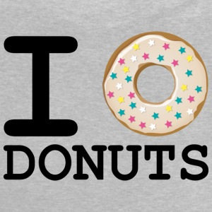 I_love_Donuts - Baby-T-shirt