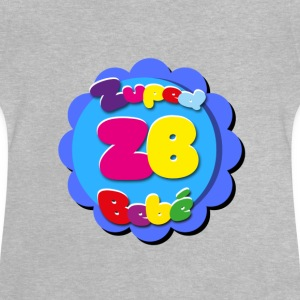 Zupedbebé, just as you would a superbaby - Baby T-Shirt