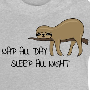 Sloth Napping - Baby T-Shirt