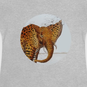 panther elefant - Baby T-shirt