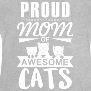 Proud mother cat - Baby T-Shirt