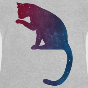 star Cat Logo - T-shirt Bébé
