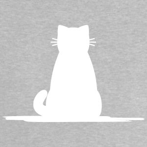 sittande cat gray - Baby-T-shirt