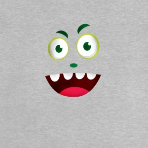 Comic face laugh mouth grin Humor Fun tooth - Baby T-Shirt