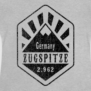 Zugspitze Allemagne - Used Look - T-shirt Bébé