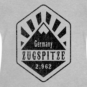 Zugspitze Germany - Used Look - Baby T-Shirt