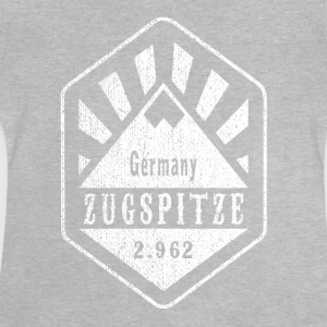 Zugspitze coat of arms - white - Baby T-Shirt
