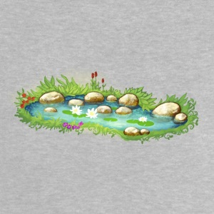 Garden Pond Pond Water Plants - Baby T-Shirt