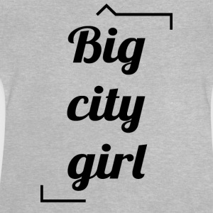 Big Girl City - Camiseta bebé