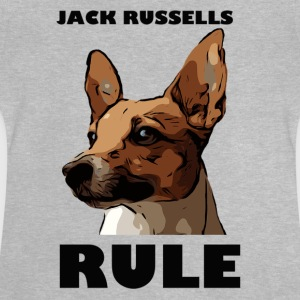 Jack russels rule - Baby T-Shirt