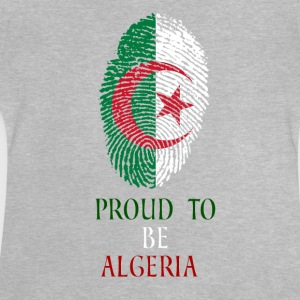Stolt over at være Algeriet fingeraftryk - Baby T-shirt