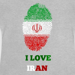 I LOVE IRAN FINGERABDRUCK - Baby T-Shirt