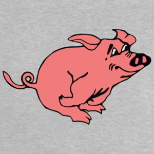 1195440823850454185liftarn Running pig svg hi - Baby T-Shirt