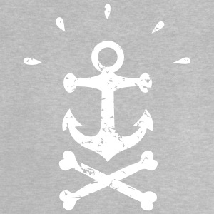 noir Pirate Anchor - T-shirt Bébé
