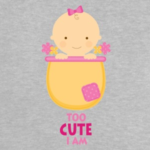 Too Cute I Am - Süßes Baby - Baby T-Shirt
