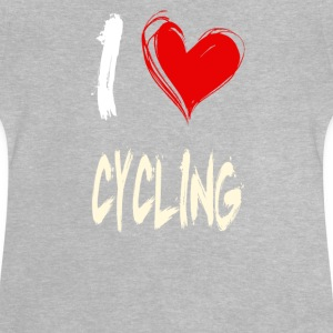 I love cycling - Baby T-Shirt