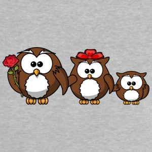Owl familie - Baby T-shirt