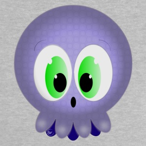Purple BabySquid - Baby-T-shirt