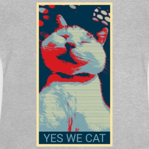 YES WE CAT - Baby-T-skjorte