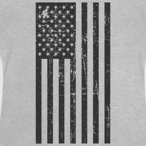 United States flag! America! Patriot! Proud! - Baby T-Shirt