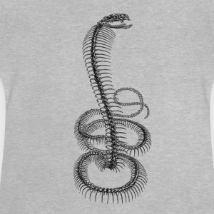 Skeleton Snake Cobra - Baby T-Shirt