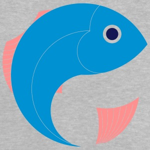 Vissen, cartoon, grafisch, Marine, Sea - Baby T-shirt