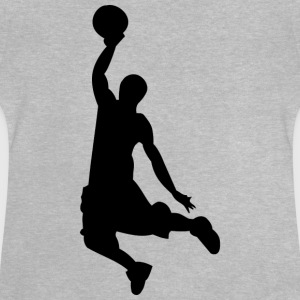 Basketball silhouette - Baby T-Shirt